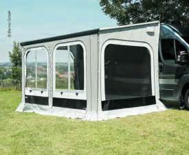 Popup Camper Awning Thule Panorama Markisenvorzelt L 3 75m F 252 R Fiat Ducato