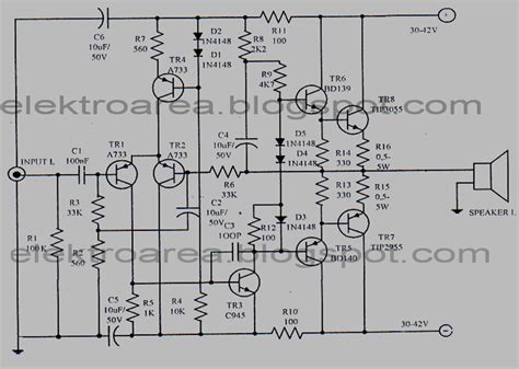 Power Lifier Yamaha 1000 Watt 1000 watts power lifier circuit diagram 1000 free engine