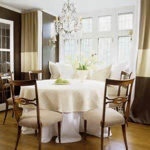 Horizontal Dining Room Chandeliers Horizontal Striped Curtains Design Ideas