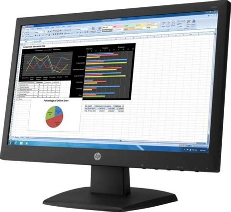 Hp V223 Monitor 21 5 Inch hp v223 21 5 inch monitor tn with led backlight buy best
