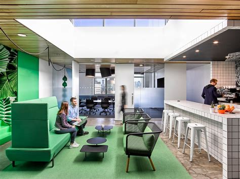 design milk at the office colorful office renovation by ghislaine vi 241 as design milk