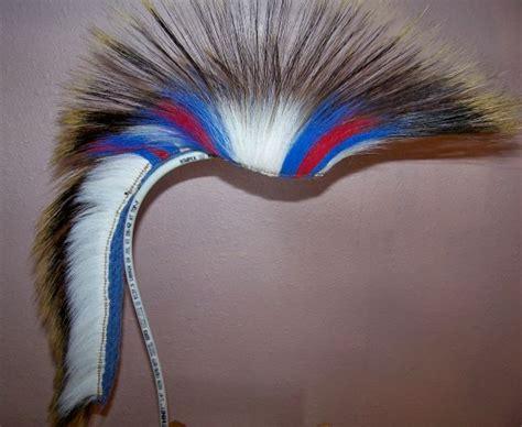 ku colors 22 quot roach with ku colors oa regalia headdress