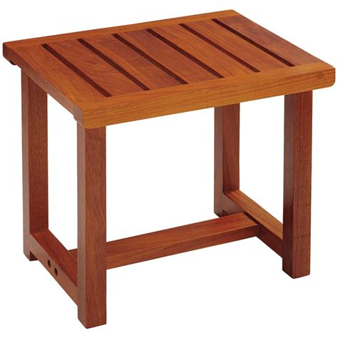 solid teak bench conair ptb6 solid teak spa bench