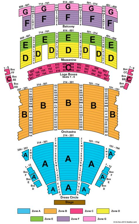 playhouse square seating hamilton state theatre cleveland seating chart