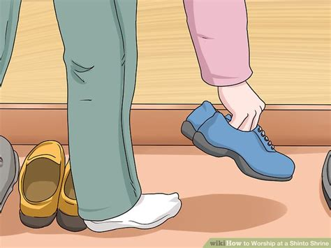shoes off house 4 ways to worship at a shinto shrine wikihow