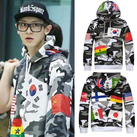 High Quality Hoodie Jumper For Supreme top fashion high quality world flag hoodies