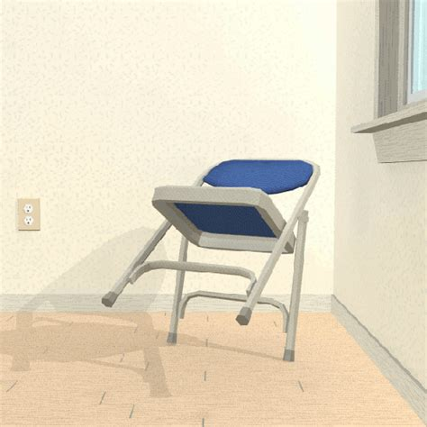 Folding Chair Gif folding chair rocking gif find on giphy