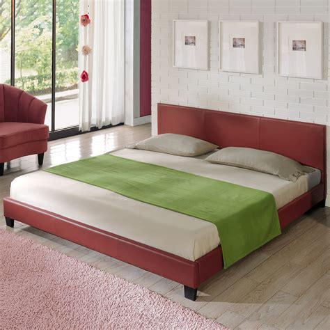 Bed Bigland 180 X 200 corium led upholstered bed 140 160 180x200 cm imitation