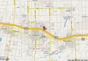 where is weslaco on map weslaco map images