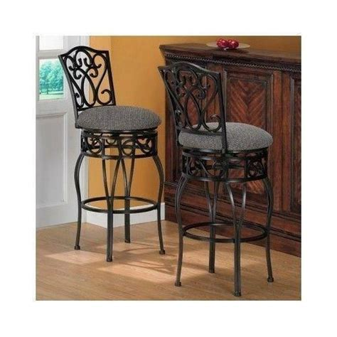 wrought iron bar stools ebay