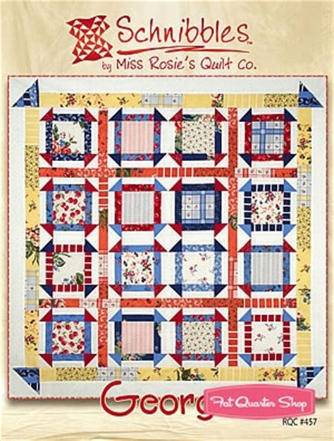 Rosies Quilt Shop by George Schnibbles Charm Pack Pattern Miss Rosie S Quilt