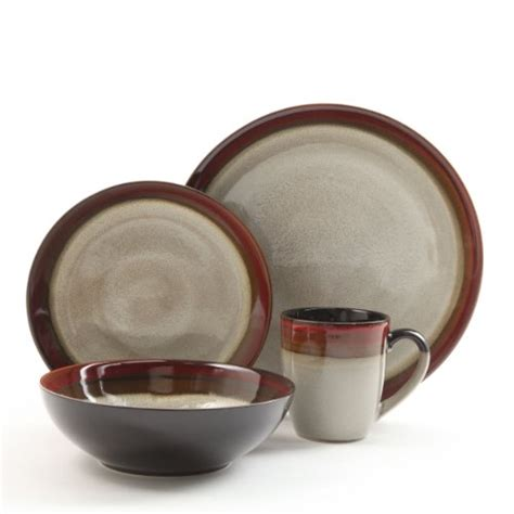 Tenun Set 16 By Amazone gibson couture bands 16 dinnerware set and