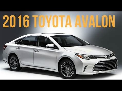 tire pressure monitoring 1996 toyota previa lane departure warning 2016 toyota avalon shows off new face at chicago auto show autoevolution