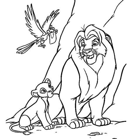 Imprimer Coloriage De Dessin Anime Coloriage Simba Le Roi Lion Coloriage A Dessiner De Lion Blanc Voir Le Dessin Dessin Roi Lion Imprimer L