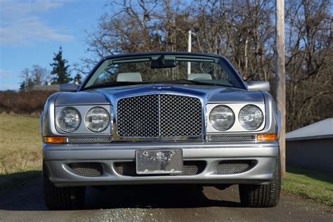 1999 bentley azure 1999 bentley azure convertible silver pearl rbm cars