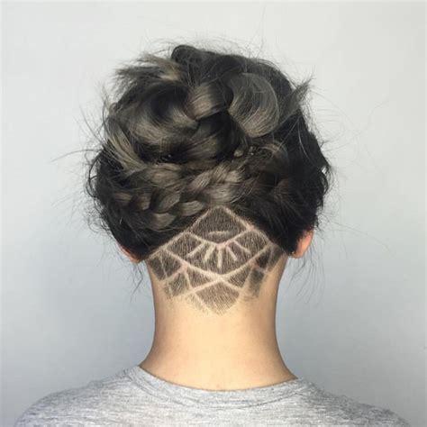 17 best ideas about nape 17 best ideas about undercut long hair on pinterest