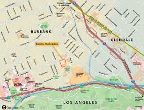 map burbank california paw technologies burbank california