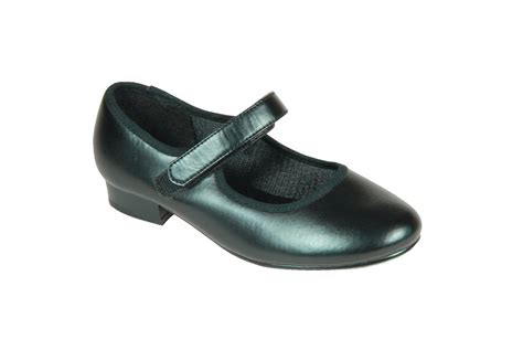 tappers and pointers velcro fastening tap shoes black