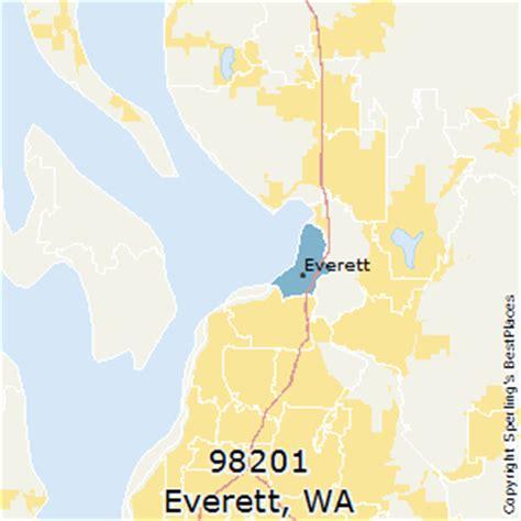 zip code map everett wa best places to live in everett zip 98201 washington
