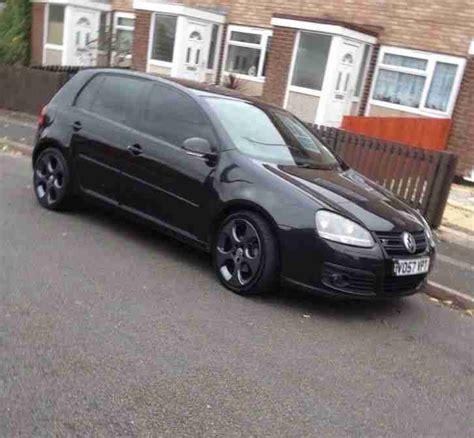 golf gt tdi for sale vw golf gt tdi sport 140bhp black manual diesel car for sale