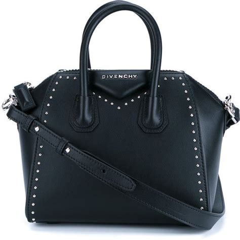 New Givenchy Antigona Studded givenchy studded leather antigona bag 1 360 liked on