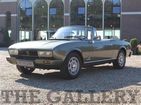 peugeot cars 1980 peugeot 504 cabriolet 2nd owner car 1980 verkauft