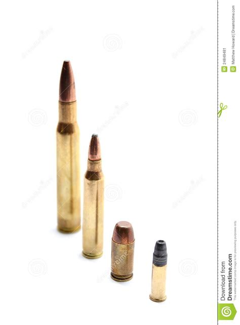 shot and bullets caliber 9mm different types stock photo image different caliber bullets stock image image 24849481