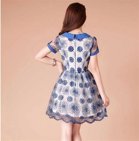 Model Baju Mini Dress Terkini Dan Murah Mawar Pink jual dress korea jual baju korea murah