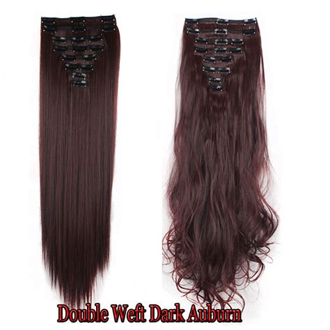 hair extension wefts uk uk mega thick weft clip in hair extensions real as