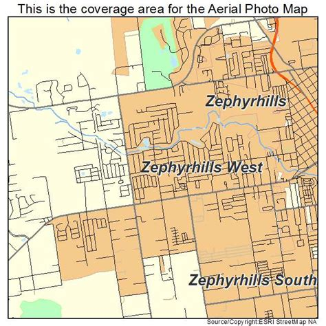 map of zephyrhills florida area aerial photography map of zephyrhills west fl florida