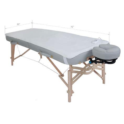 earthlite fleece massage table warmer fleece pad dual