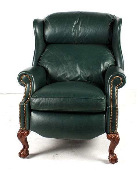 Hancock And Leather Recliners by Hancock Leather Upholstered Recliner