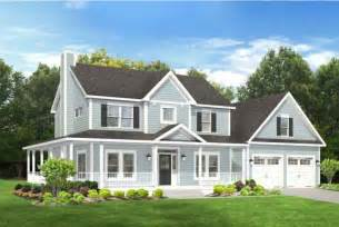 Farmhouse With Wrap Around Porch Plans Home Plan Homepw76667 2102 Square Foot 3 Bedroom 2