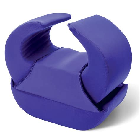 Knee Pillow For Knee the stay in place knee pillow hammacher schlemmer