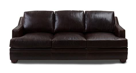 brown leather couches antique brown leather sofa weir s furniture