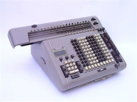 calculator btg rotary calculators friden sbt