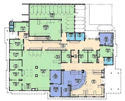 kennel floor plans 2012 veterinary economics hospital design people s choice