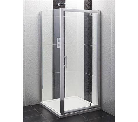 Pivot Shower Door 800mm Beo Framed Pivot Shower Door 800mm Aqpd80