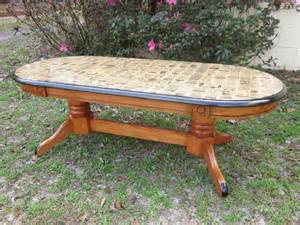 Coffee Table Decoupage Decoupage Coffee Table With Antique Paper Wooden Coffee Table