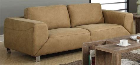 chocolate brown suede sectional chocolate brown contrast micro suede sofa from monarch