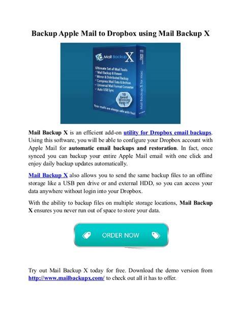 dropbox daily limit backup apple mail to dropbox 3