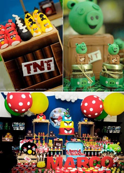 Angry Birds Decoration Ideas Kara S Ideas Angry Birds Birthday Kara S