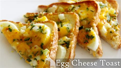 egg cheese toast recipe quick toast recipes indian easy egg recipes by shilpi youtube