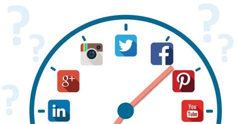 imagenes para publicar en redes sociales los mejores horarios para publicar en redes sociales y