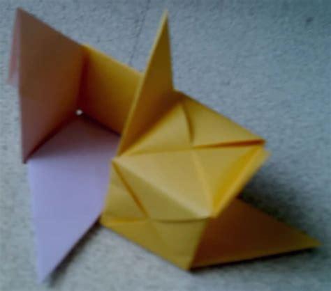 origami fractals
