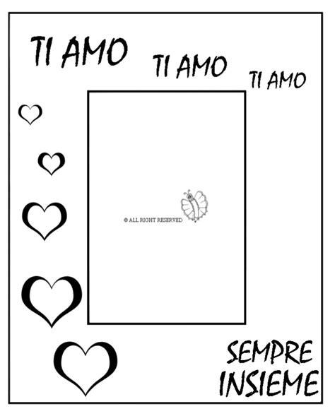 disegni di cornici per bambini sta disegno di cornice per innamorati da colorare