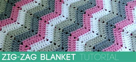 zig zag crochet pattern video crocheting zig zag pattern creatys for