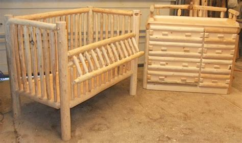 Log Baby Crib Plans Woodworking Projects Plans Log Cribs For Babies