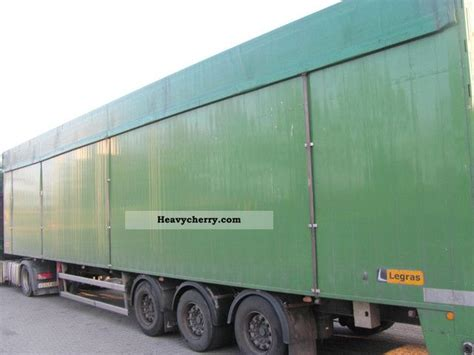Legras Walking Floor Trailers by Legras Dm34 2008 Walking Floor Semi Trailer Photo And Specs