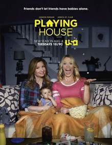 House Tv Series by Playing House Tv Series 2014 Filmaffinity